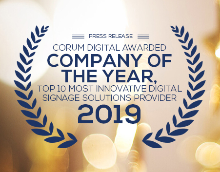 Corum Digital Awarded Company of the Year
