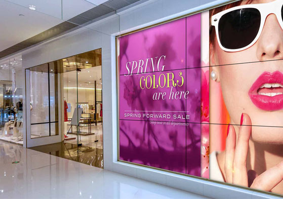 advertising agency digital signage
